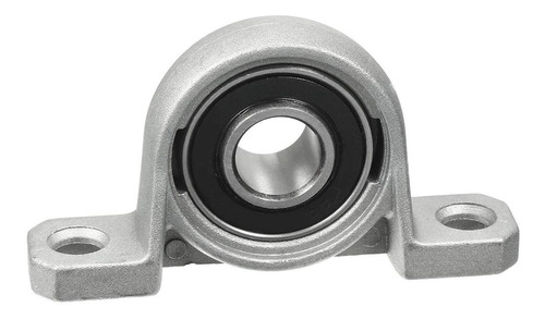 2 X Mancal Kp001 Para Eixo 12mm Com Rolamento - Full