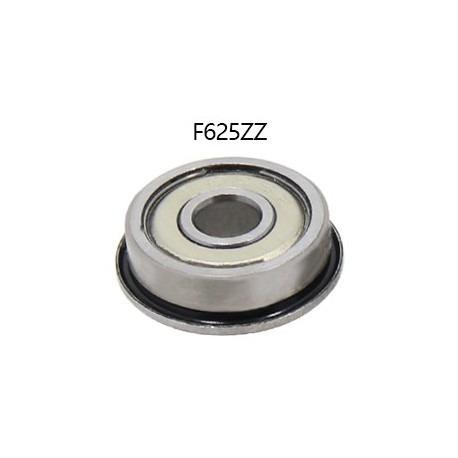 2 X Rolamento F625zz 625zz Com Flange (5x16x5)