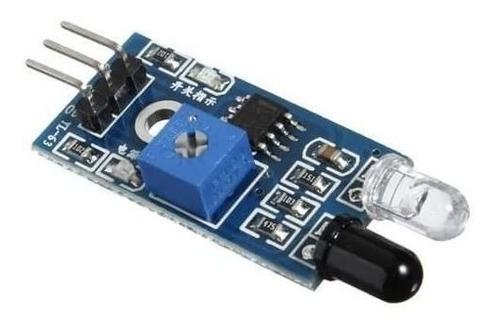 3 X Sensor Obstáculo Reflexivo Infravermelho Ir - Full