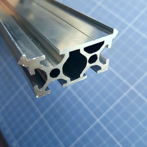4 X 1 Mt Perfil De Alumínio Estrutural 20x40 Com V-rail