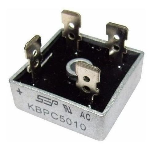 5x Diodo Ponte Retificadora Kbpc5010 50a 1000v - Full