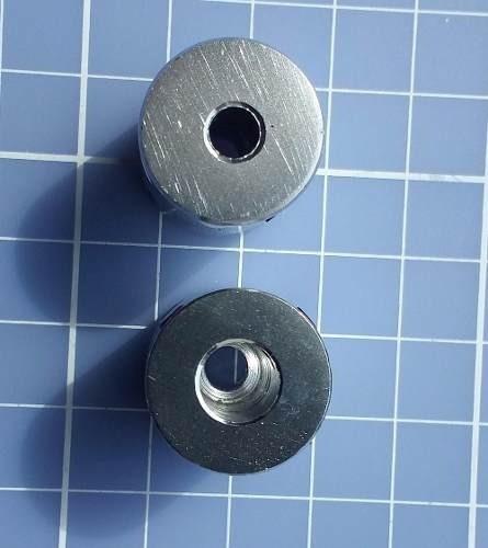 Acoplamento Flexivel 6,35mm * 8mm Impres 3d Nema 23 Cnc