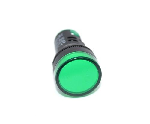 Ad16-22ds-r Sinaleiro Led Verde 22mm Com 10 Peças