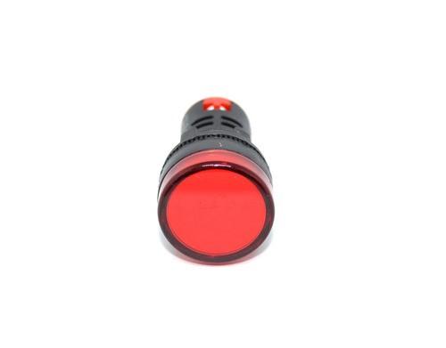 Ad16-22ds-r Sinaleiro Led Vermelho 22mm Com 10 Peças