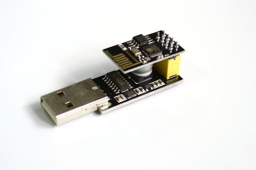 Adaptador Programador Usb + Módulo Esp-01 Esp8266 Wifi Full