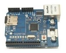 Arduino Ethernet Shield W5100 Com Slot Para Sd Card Arduino