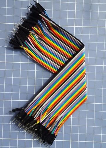 Cabo Jumper 20 Cm Macho X Macho 1x40 Protoboard - Arduino