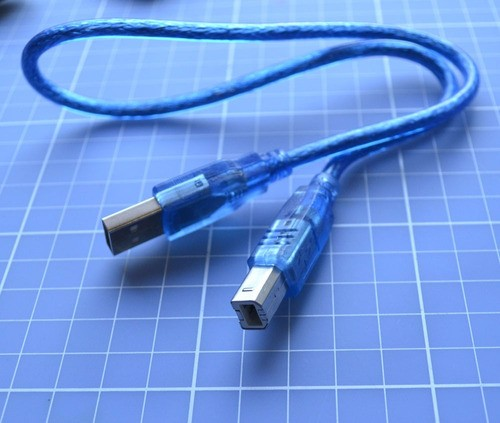 Cabo Usb 2.0 Para Arduino A/b 30cm