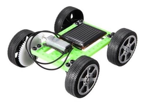 Carrinho Movido Energia Solar Brinquedo Educativo - Full