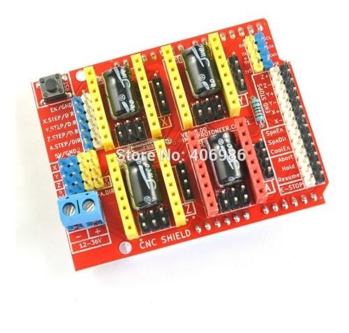 Cnc Shield V.3 Impressora 3d Reprap Arduino - Promoção