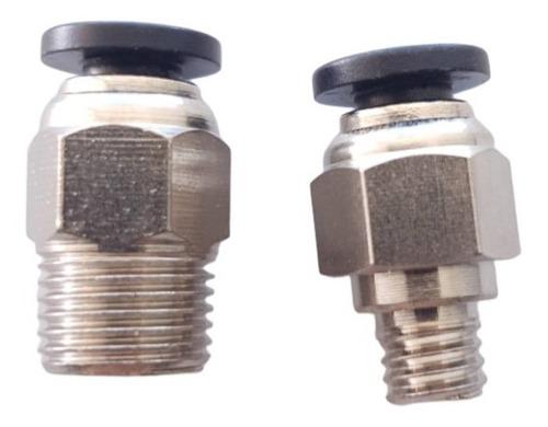Conectores Bowden Ptfe Pc4-01 + Pc4-m6 Extrusora Hotend Full