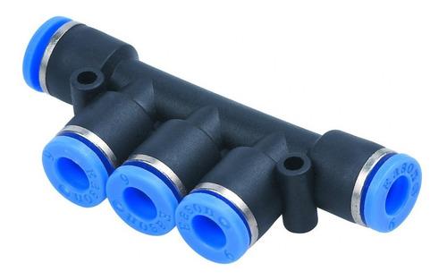 Conexão Pneumática Distribuidor Múltiplo Ø 6mm 2pcs