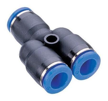 Conexão Pneumática União Emenda Em Y Ø 8mm Py8 - 4pcs