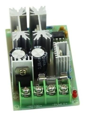 Controlador Pwm 20a 10v-60v Dc Controle De Rotação Motor Dc