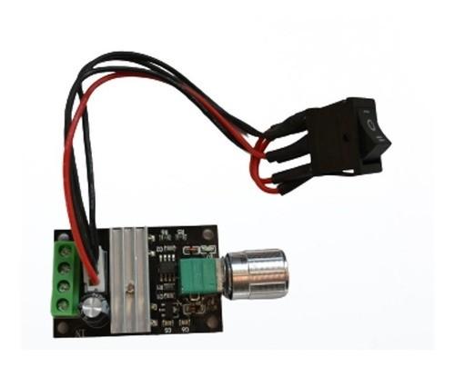 Controlador Velocidade Dc 3 - 28v 3a Pwm Com Inversão - Full