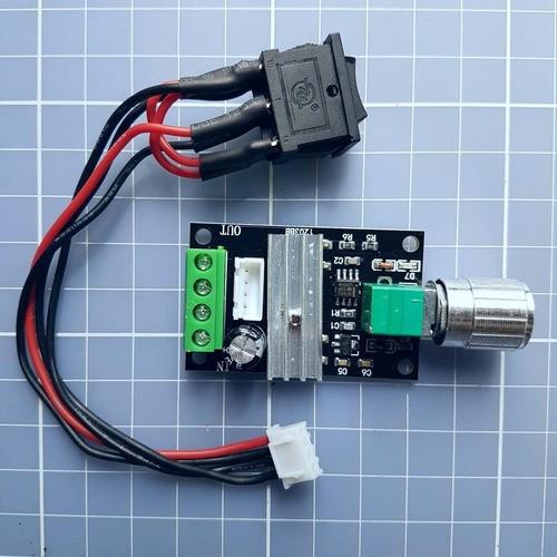 Controlador Velocidade Motor Dc 3- 28v 3a Pwm Com Inversão