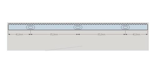 Cremalheira 12x12mm 250mm Pom