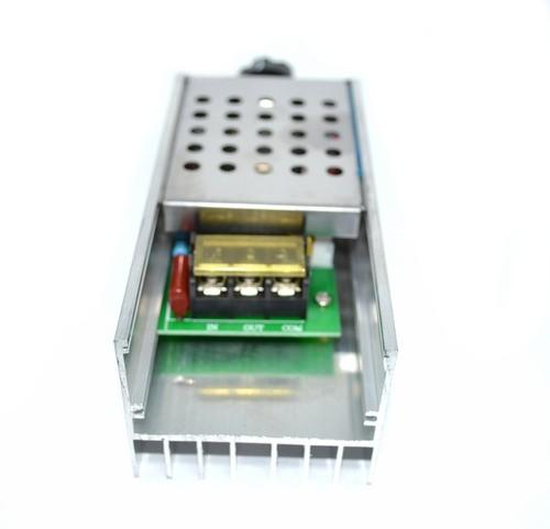 Dimmer 6000w Regulador De Tensão Elétrica Scr Ac 10-220v
