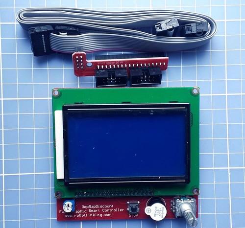 Display Controladora Lcd 128x64 Impressora 3d