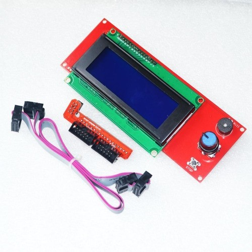 Display Lcd 2004 Leitor Sd Impressora 3d Reprap Ramps - Full