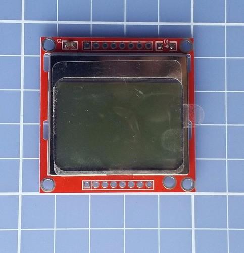 Display Lcd Gráfico 84x48 Nokia 5110 Arduino Pic Arm