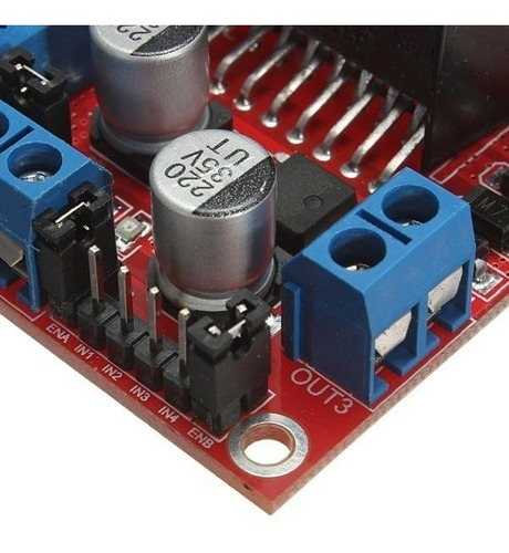 Driver Motor Ponte H Dupla L298n Arduino Pic Automação