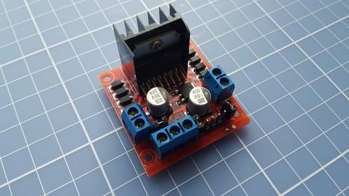 Driver Shield Ponte H Dupla L298n Motor Dc Arduino Pic