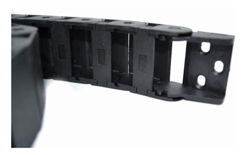 Esteira Porta Cabos 18x37mm Com Terminais - Cnc / Automação
