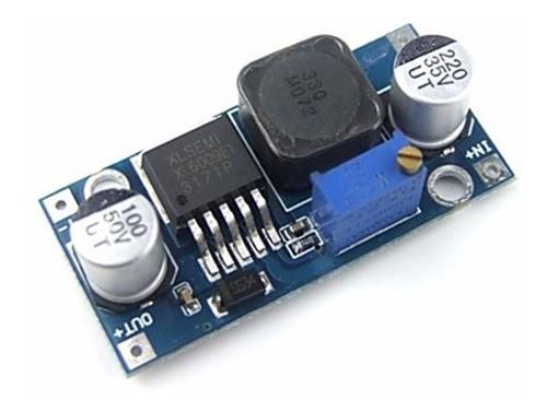 Fonte Regulável Xl6009 Dc-dc Para Arduino Step-up (boost)
