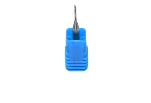 Fresa Topo Raiada 1mm Ideal Para Usinagem De Acrílico, Plástico, Madeira, Pcb Cnc Router Tupia Dremel