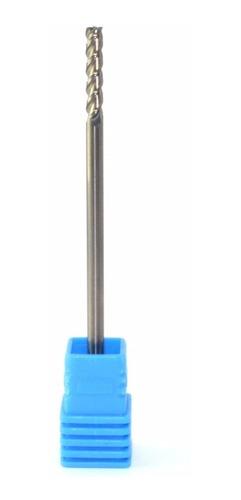 Fresa Topo Reto Alumínio Canal Polido 3x10mm 3 Cortes - Full