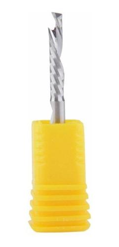 Fresa Up & Down Cut 1 Corte 3.175mm X 17mm Madeira Mdf Acm