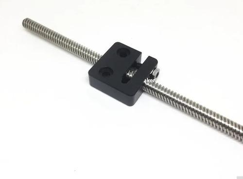 Fuso Trapezoidal Tr8-2mm - 300mm + Bloco Blacklash - Full