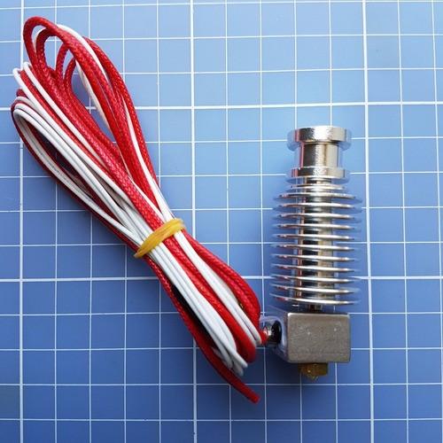Hotend E3d V6 Filamento 3.00mm Bico 0.4mm - Direct Extruder