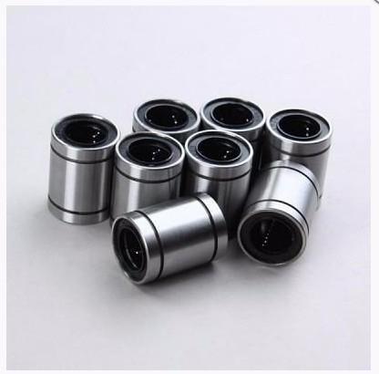 Kit - 1mt Guia Linear 12mm + 4 Rolamentos Lm12uu - Cnc / 3d