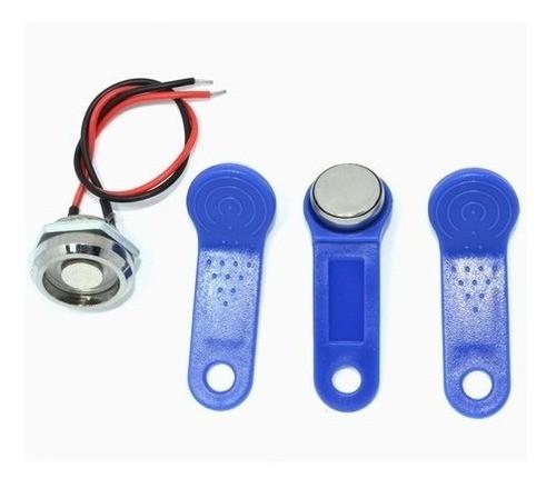 Kit Base Leitora + 3 Chaveiros De Ibutton - Full