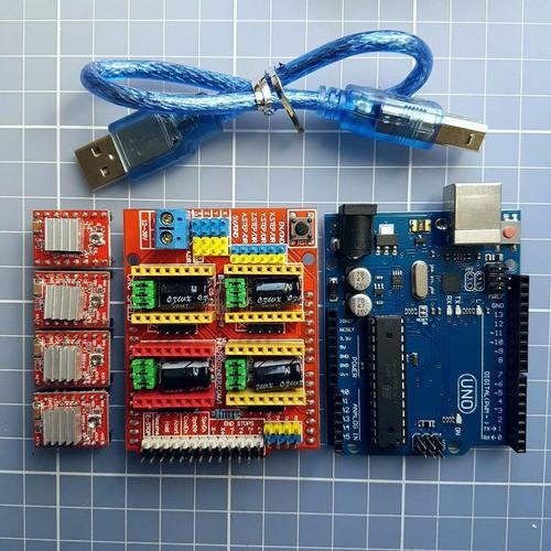 Kit Cnc V3.0 Professor Marlon Nardi