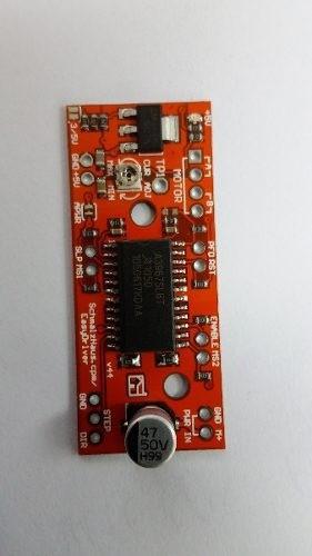 Kit Com 4 Easydrive A3967 Cnc Motor Impressoras 3d