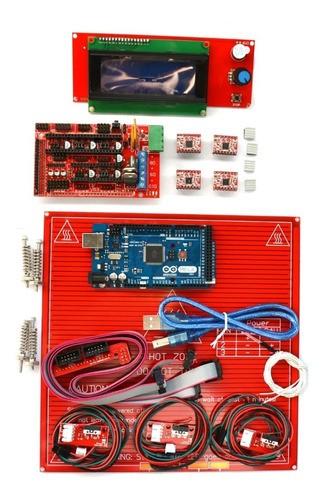 Kit Eletrônica Impressora 3d - Display 2004 - Leitor Sd 12x