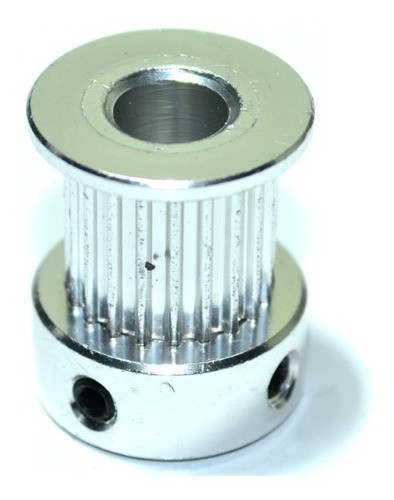 Kit Gt2 10mm - 5mt Correia Alma De Aço + 3 Polias 20 Dentes