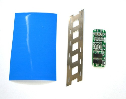 Kit Montagem Pack 18650 - Fita Niquel + Bms 20a + Tubo Pvc