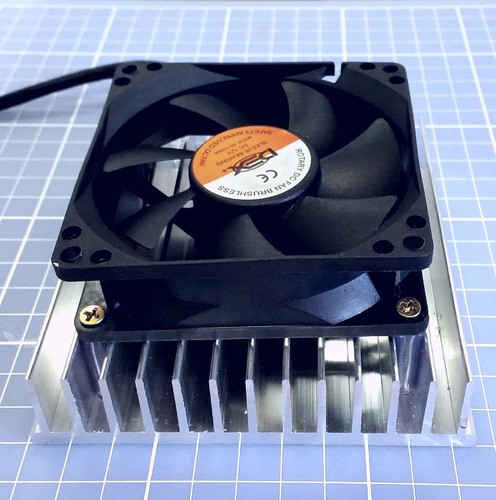 Kit Refrigeração 12v 2xpeltier 12706+2 Dissipadores+2 Cooler