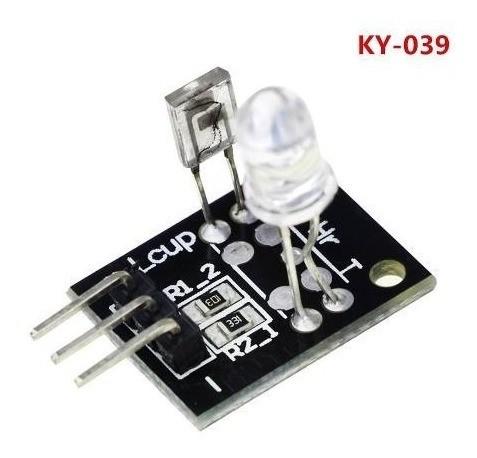 Ky 039 - Módulo Sensor De Batimentos Cardíaco Ky-039 Infrave