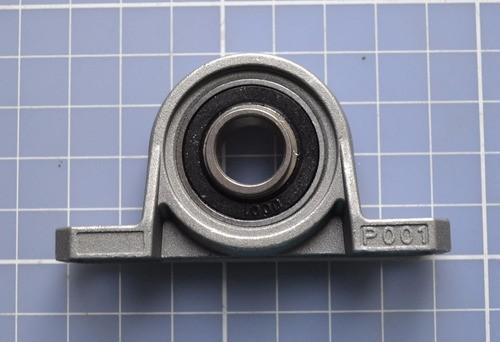 Mancal Kp001 Para Eixo 12mm Com Rolamento - Automação Cnc