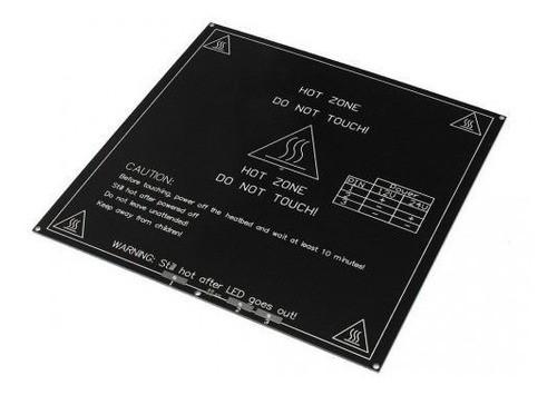 Mesa Aquecida Mk2b Aluminio 214x214mm Com Termistor 100k