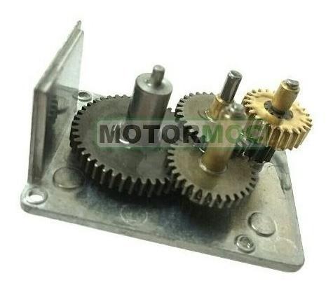 Micro Motor Redutor 12v Dc 90rpm Caixa De Redução Bloqueio