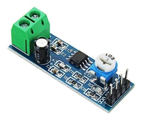 Módulo Amplificador De Áudio Lm386 - Ate 200x Ganho - Full