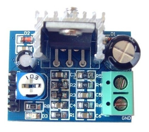 Módulo Amplificador De Audio Tda2030 - Full