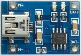 Módulo Carregador De Baterias Lítio Tp4056 - Arduino Pic