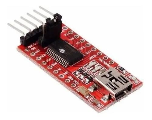 Módulo Ftdi Apm Conversor Usb Para Ttl E Rs232 Serial - Full